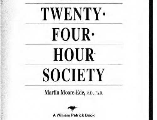 دانلود کتاب The Twenty Four Hour Society 1993