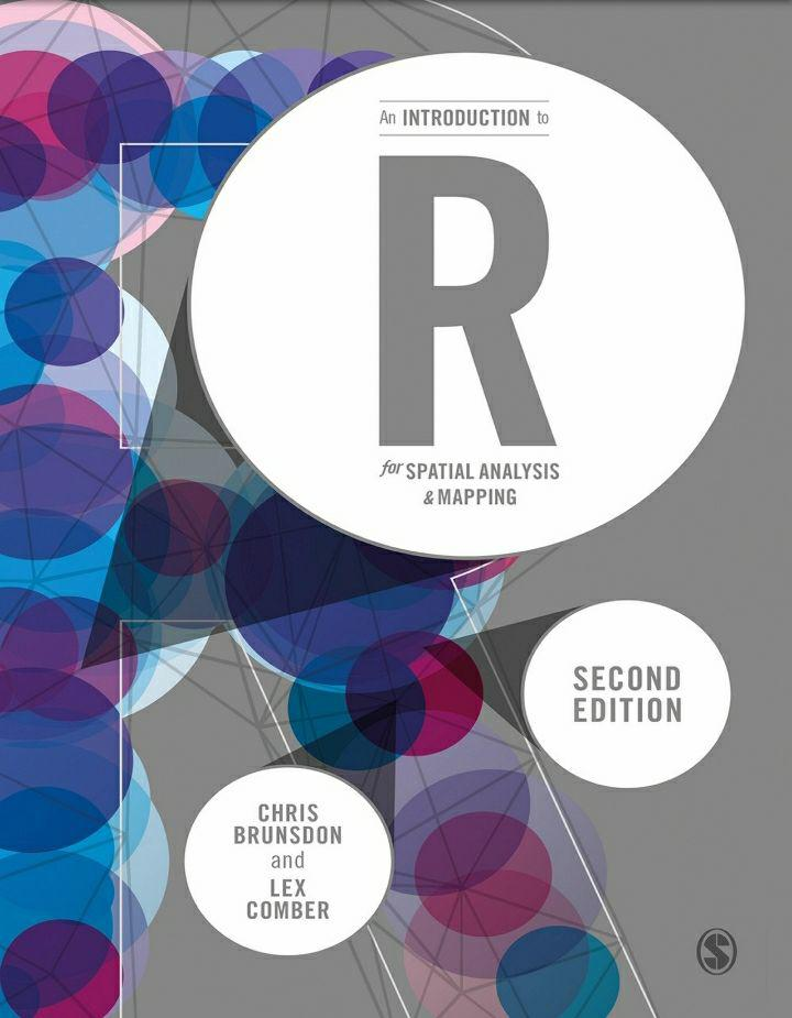 کتاب آموزش تحلیل های مکانی با استفاده از زبان برنامه نویسی R
