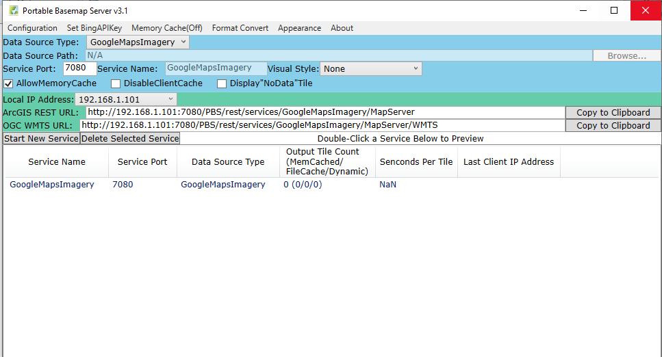 دانلود نرم افزار Portable Basemap Server